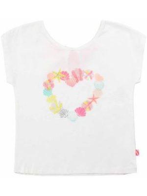 Μπλούζα με στάμπα καρδιά Billieblush