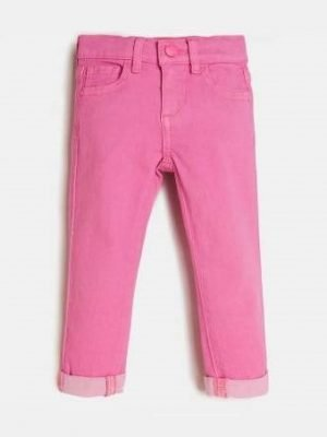 Παντελόνι ροζ Guess για κορίτσια