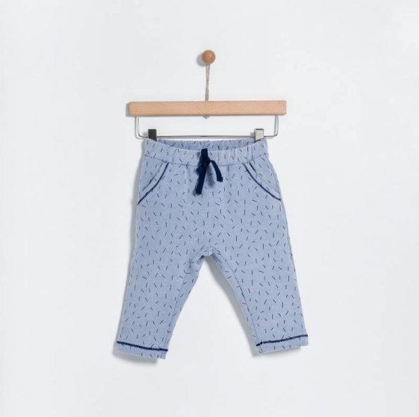 Βρεφικό παντελόνι φούτερ για αγόρια Yelloh