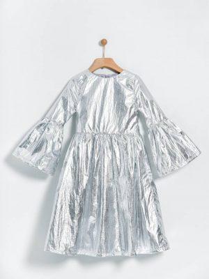 Παιδικό μεταλλιζέ φόρεμα της εταιρείας Yelloh