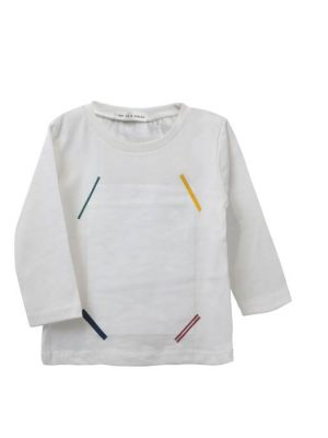 Λευκή παιδική μπλούζα Twoinacastle