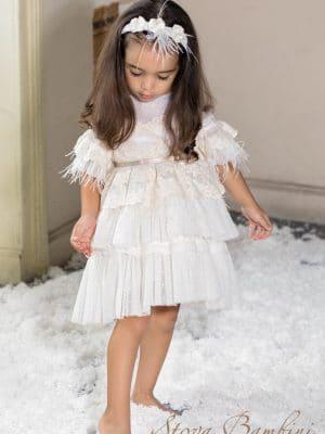 Βαπτιστικό φόρεμα G4 Stova Bambini