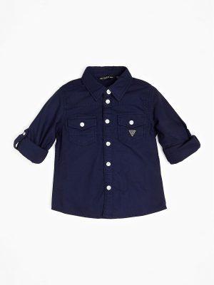 Παιδικό πουκάμισο Guess για αγόρια