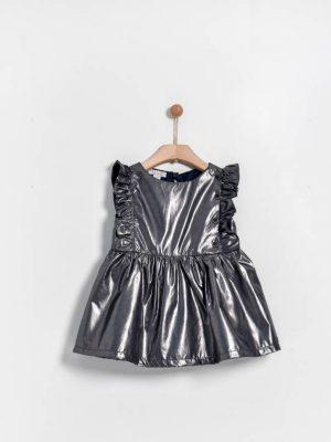 Βρεφικό φόρεμα με βολάν Yell-oh