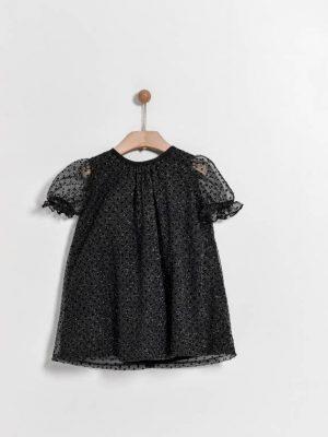Παιδικό φόρεμα με glitter της εταιρείας Yell-oh