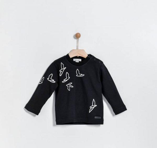 Βρεφική μπλούζα με πουλιά Yelloh