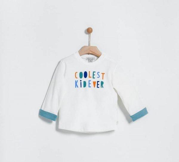 Βρεφική μπλούζα με στάμπα Yelloh