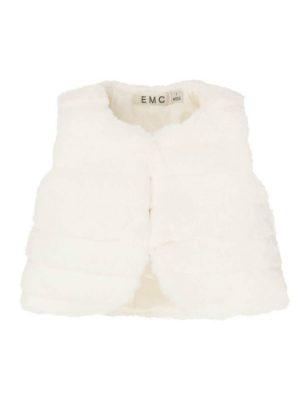 Γιλέκο γούνινο EMC για κορίτσια