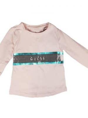 Μπλούζα με παγιέτες Guess