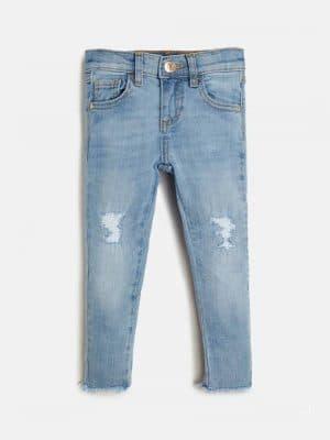 Παντελόνι τζιν ξεβαμμένο Guess