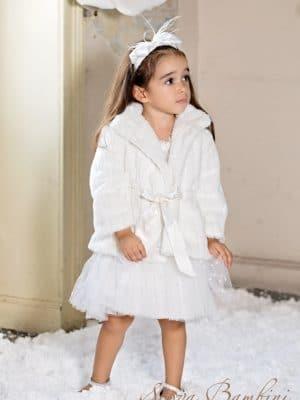 Βαπτιστικό παλτό G9 λευκό Stova Bambini