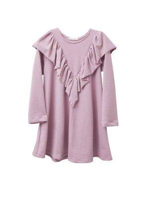 Φόρεμα ροζ με βολάν Two In A Castle