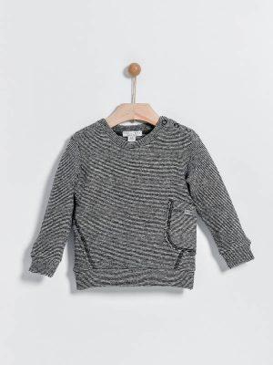 Βρεφική μπλούζα ριγέ Yelloh