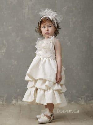 Alkmini βαπτιστικό φόρεμα Designer's Cat