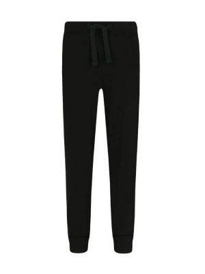 Παντελόνι φόρμας μαύρο Guess