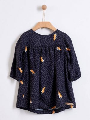 Φόρεμα με αστραπές Yelloh για κορίτσια