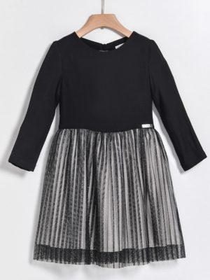 Φόρεμα με τούλι Yelloh σε μαύρο