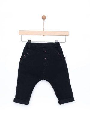 Παντελόνι τζιν Yelloh σε μαύρο χρώμα