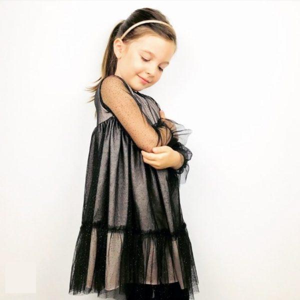 Φόρεμα με τούλι Alice με βολάν