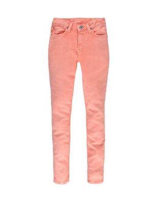 Παντελόνι τζιν skinny fit Garcia ροζ