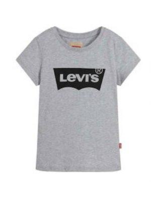 Μπλούζα κοντομάνικη γκρι Levi's για αγόρια