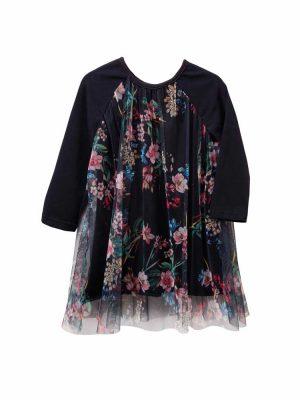 Φόρεμα με floral τούλι Twoinacastle