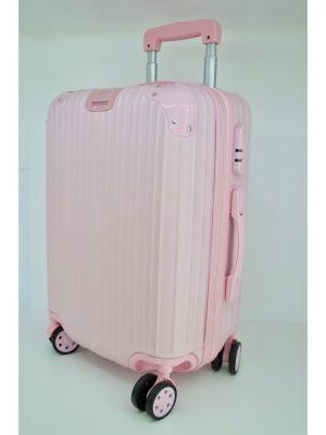 Παιδική βαλίτσα τρόλεϊ ροζ