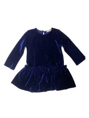 Φόρεμα βελουτέ μπλε Two In A Castle